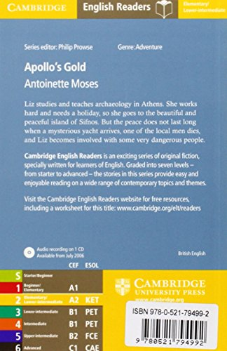 CER2: Apollo's Gold Level 2 Book with Audio CD Pack (Cambridge English Readers)