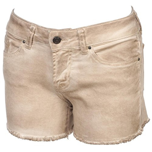 Teddy Smith-Sparrow Tan Pantaloncini Girl-Pantaloncini modalità, beige, 16 anni