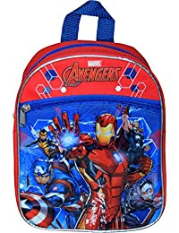 Marvel Avengers - Mini Mochila de 10 Pulgadas con Parche de Sellado térmico 3D o Iron