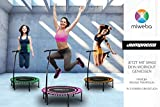 Miweba JUMPNESS Fitness Trampolin Round 40 inklusive Pad 100 cm pink Minitrampolin Workout