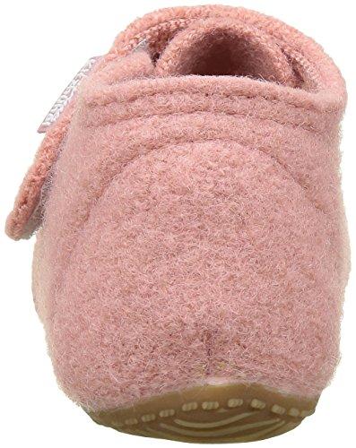 Living Kitzbühel Babyklett Blumenwiese Und Schmetterling, Chaussures Marche Bébé Fille Rose - Pink (Ash Rose 336)