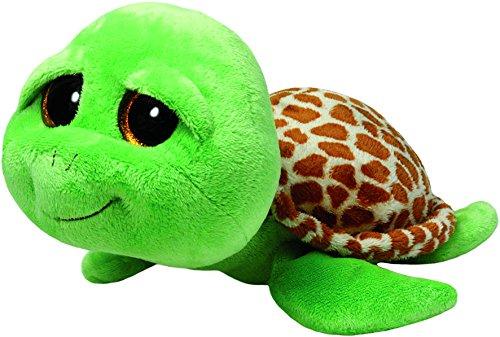 "Beanie Boo Turtle - Zippy - Green - 23cm 9"""