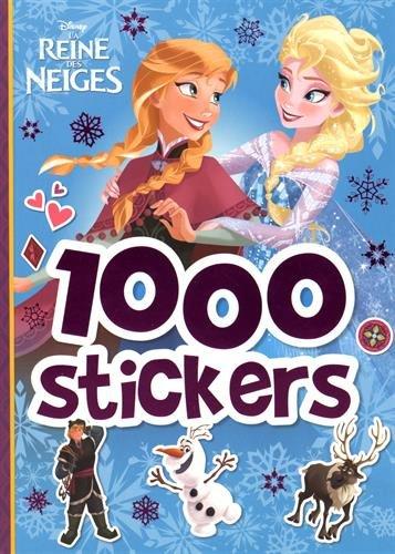 La reine des neiges : 1 000 stickers