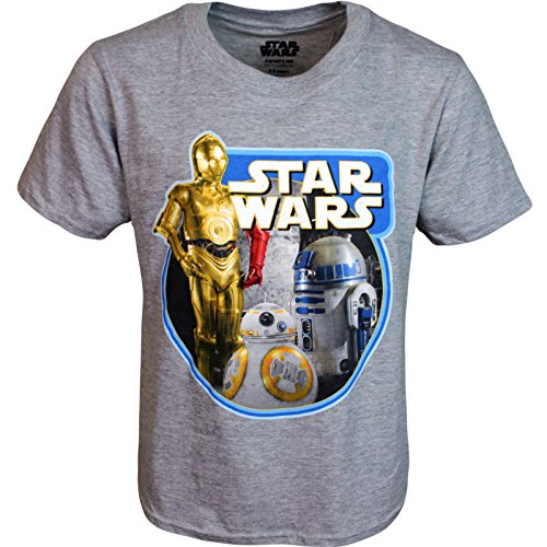 Boys Star Wars Droids T Shirt BB8 C3PO R2D2 (7-8 Years) for sale  Delivered anywhere in UK