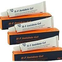 3 x HF Antidote gel (calciumglukonat 25g) - Flusssäure Verätzung preisvergleich bei billige-tabletten.eu