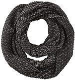 s.Oliver Herren Schal 97.811.91.3466, Schwarz (Grey/Black Knit 99x1), One Size (Herstellergröße: 1)