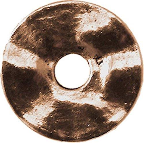 MegaCrea Anneau Donut métal 18 mm Cuivré