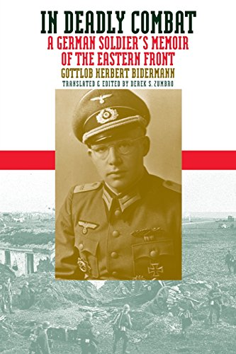 In Deadly Combat: A German Soldier's Memoir of the Eastern Front (Modern War Studies) por Gottlob Herbert Bidermann