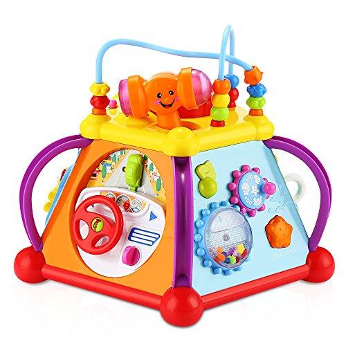 Hola Educatifs Avec Cube Musical Enfants Cadeau D'apprentissage Pour Son Idéal Jouet Multifonctionel Jeux D'activités Et Lumière eWrdCxoB
