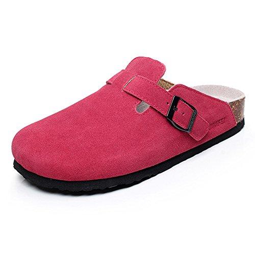 Estate Sandali Pantofole uomo e donna Pantofole casual Pantofole in sughero Ciabatte piatte sandali con 5 colori Colore / formato facoltativo 1004