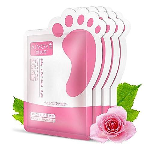 erthome Remove Dead Skin Foot Mask Peeling Cuticles Heel Feet Care Anti Aging (94)