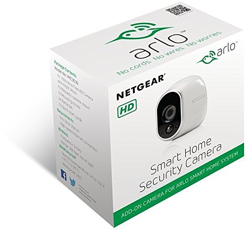 Netgear Arlo VMC3030-100EUS Smart Home Zusatz-HD-Security-Kamera - 5