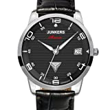 Junkers Damen-Armbanduhr Wellblech Flatline Automatik Cal. 9015 Analog Automatik Leder 63652 - 2
