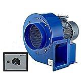 Ventilatore Centrifugo OBR200 , con 500W Regolatore di velocità industriale Aspiratore ventilazione estrattore Radiale