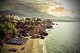 Photograph Un 18'x12' fotográfico impresión DE NERJA playa Calahonda playa Andalucía costa del sol España paisaje foto color imagen Fine Art Print. Fotografía por Andy Evans fotos