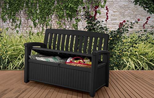 Koll Living Gartenbank/Aufbewahrungsbox/Auflagenbox - 2