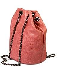 Bella iO.iO.mIO do petit sac à main en cuir avec bandoulière chaîne stickerkoenig) 13 x 20 x 13 cm (H x L x P)