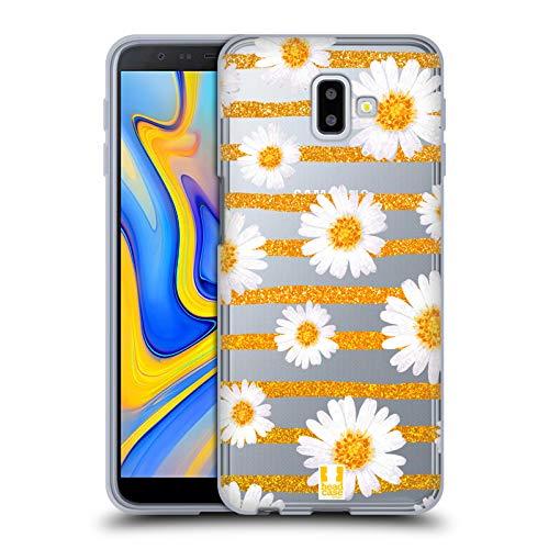 Head Case Designs Margherita Pazzi per I Trend! Cover Morbida in Gel per Samsung Galaxy J6 Plus (2018)