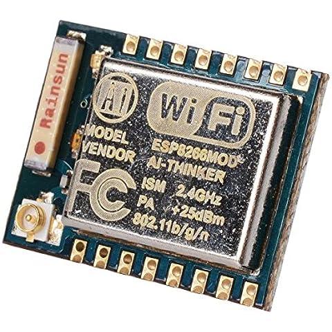 WINGONEER Módulo ESP8266 ESP-07 del puerto serie del transceptor inalámbrico WIFI LWIP AP + STA