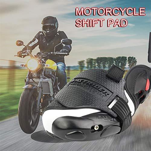 terynbat Klebstoff Schutzüberzug Motorrad Schaltkissen Überschuhschutz Rutschfestes Schuhe Pad Abnutzung Protector für Motorrad-Schuhe schützt