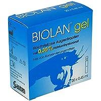 Biolan Gel Augentropfen 20X0.45 ml preisvergleich bei billige-tabletten.eu