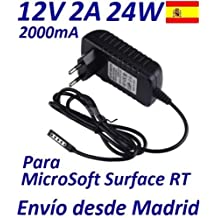 Cargador Corriente 12V Reemplazo Tablet Microsoft Surface RT Recambio Replacement