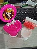 kuulee süß waschbecken toilette setzen plastik badezimmer wc für barbie - puppen spüle spiegel kinder geschenk