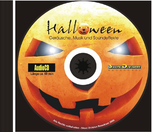 (Unbekannt CD Halloween - Geräusche, Musik und Soundeffekte 99 Tracks, zum Vertonen, für Party, zum Gruseln)