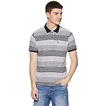 Parx Men's Striped Regular Fit T-Shirt