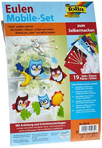 folia 22819 - Eulen Mobile-Set zum ()