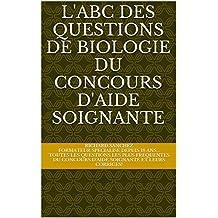 Concours Aide Soignante 2017: abc des questions de biologie