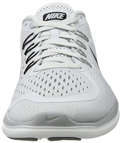 Nike Women's Nike Free Rn Sense Running Shoe, Scarpe Sportive Indoor Donna Multicolore (Pure Platinum/black-wolf Grey-cool Grey)