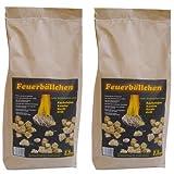 EiFi Feuerbällchen Anzünder, Braun, 5 kg Vorteilspackung (2 2,5kg)