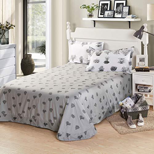 Bettbezug, bequem, Baum-Muster, Baumwolle, Dicker Twill, für Studenten, Schlafsaal (Größe: 270 x 245 cm) -