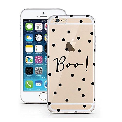 iPhone 7 Hülle von licaso® für das Apple iPhone 7 aus TPU Silikon Can't Stop thinking about it - BUY it Fashion Design Muster ultra-dünn schützt Dein iPhone 7 & ist stylisch Case Design Schutzhülle Bu Boo! Dots