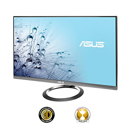 Asus Designo MX27AQ 27-Inch Ultra-Low Blue Light IPS LCD Monitor (100M:1, 300 cd/m2, 2560 x 1440, 5 ms, DP/HDMI/MHL)