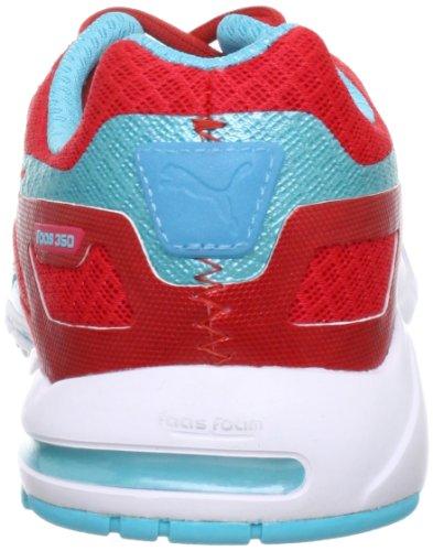 Puma Faas 350 S Wn's Laufschuh Hibiscus / Blue Cur Rot