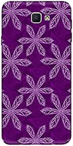 The Racoon Lean printed designer hard back mobile phone case cover for Samsung Galaxy On Nxt. (Purple Flo)