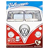 oeuf en chocolat au lait de pâques, boutons et tasse en céramique - volkswagen - 95g