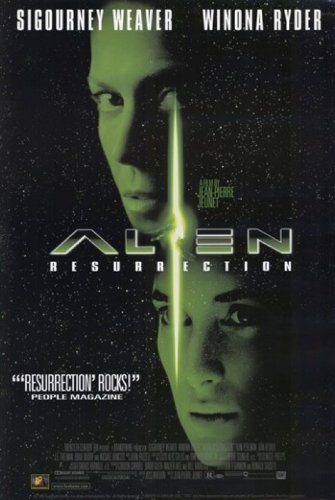 Alien Resurrection Movie Poster (27,94 x 43,18 cm) (Alien Resurrection Movie Poster)