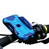 Bike Mount Bicycle Holder for any Smartphone,such as IPhone,Samsung,HUAWEI, Road or Mountain Bike, High - end cycling mobile phone seat equipment accessories, also Compatible with Motorbikes and Scooters