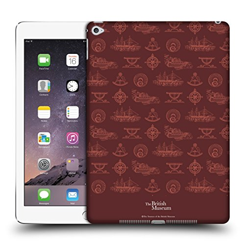 official-british-museum-nautical-red-adventure-and-discovery-hard-back-case-for-apple-ipad-air-2