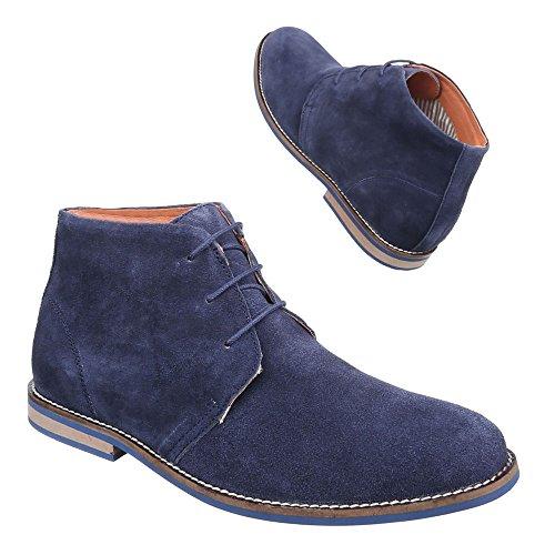 Ital-Design , Desert boots homme Bleu foncé