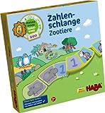 Haba 7631 - Meine erste Spielwelt Zoo - Zahlenschlange Zootiere