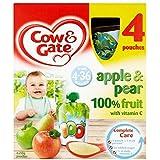 Vache & Portail Pomme Et De Poire De 4-36 Mois 4 X 90G