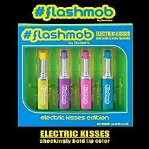 Flash Mob Electric Kisses Shock Bold Color Lipstick Pintalabios Juego de 4WOW Party Hitachi.