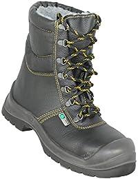 Siili Safety - Calzado de protección de Piel para hombre Verde verde, color Verde, talla 42