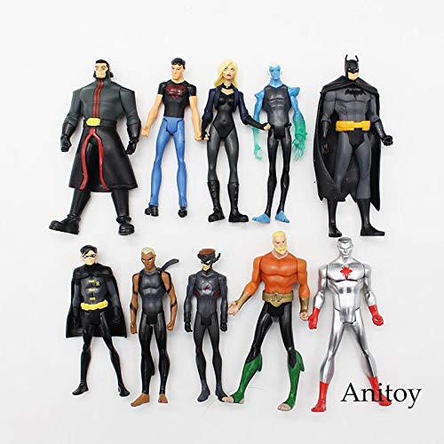 ics super Hero Superman PVC Action Figure sammeln Modell Spielzeug 11 cm kt3588 ()