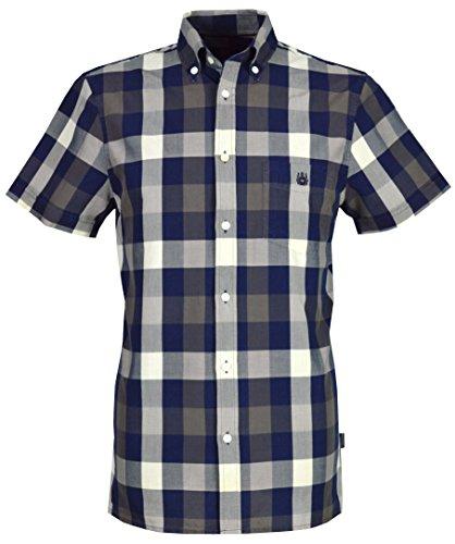 aquascutum-camisa-casual-con-botones-para-hombre-azul-azul-marino-xxx-large