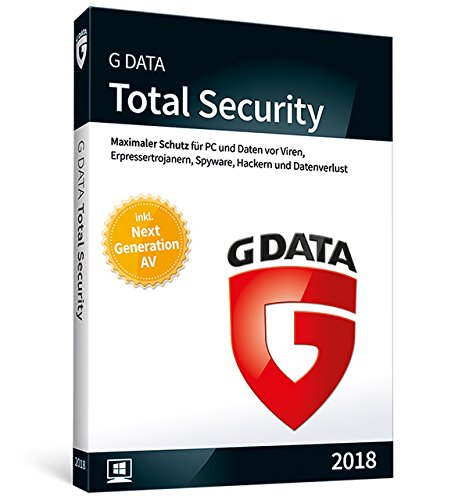 G Data Software Total Security (2018) für 3 - Pc-software